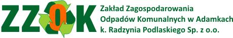 Zakład Zagospodarowania Odpadów Komunalnych w Adamkach k. Radzynia Podlaskiego Sp. z o.o. - www.zzok-adamki.pl